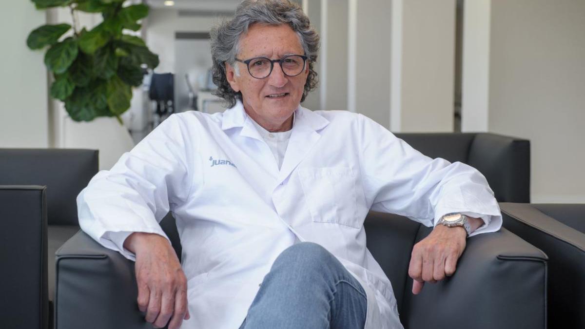 Spricht sich eng mit den Patienten und ihrem Hausarzt ab: Dr. Miquel Munar.