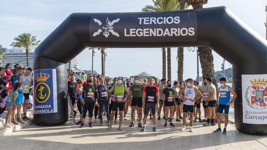 La carrera Tercios del Mar pone a prueba la resistencia de 750 corredores