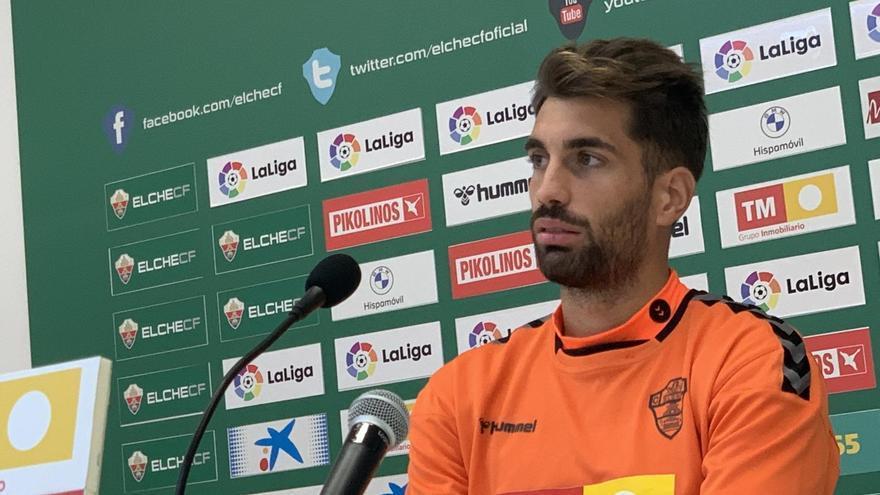 Josema: «El equipo que le gane al Elche tiene que sudar sangre»