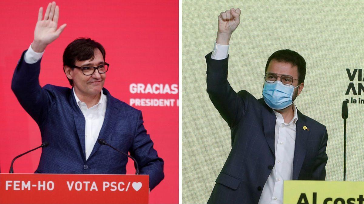 El PSC gana en Cataluña pero ERC tiene la llave del 'Govern'