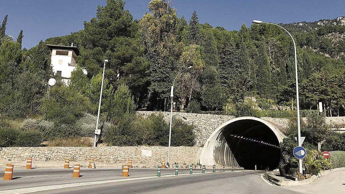 El Consell ha mejorado la seguridad del túnel de Sóller.