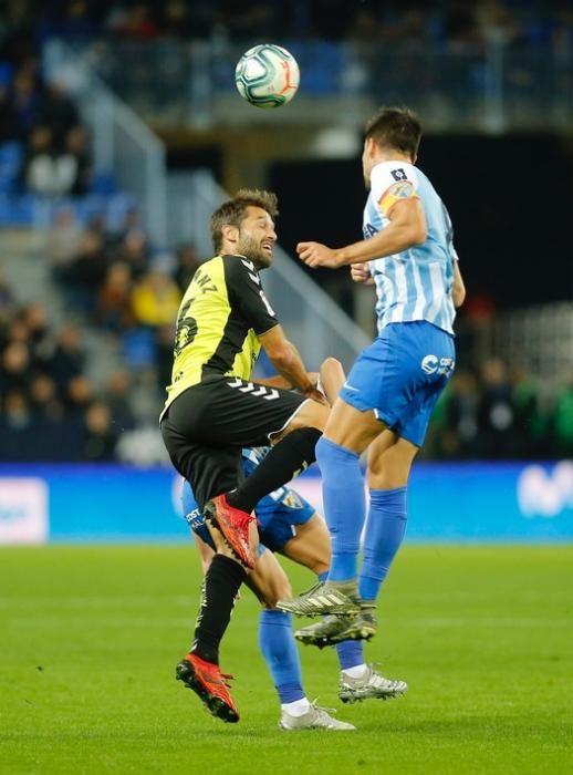El CD Tenerife no pudo ganar a un sólido Málaga CF en casa