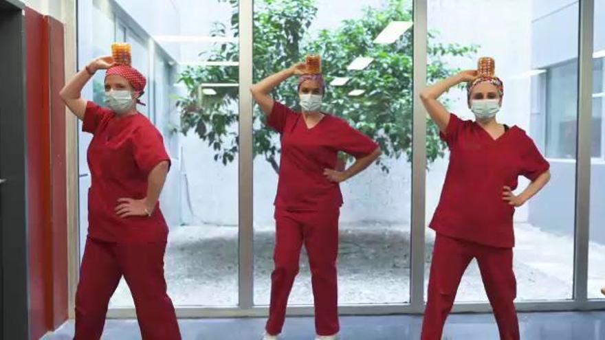 El Hospital de Elda devuelve los aplausos en un videoclip
