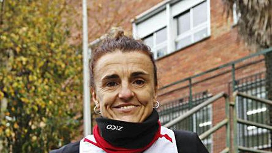 Julia Vaquero prevé correr a finales de año el primer maratón de su vida