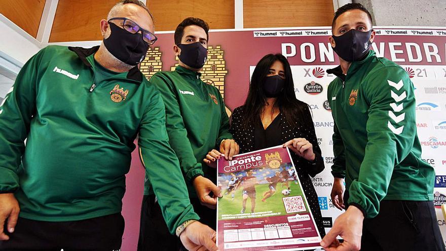 El Pontevedra renueva a Churre y tendrá entrenador la semana que viene