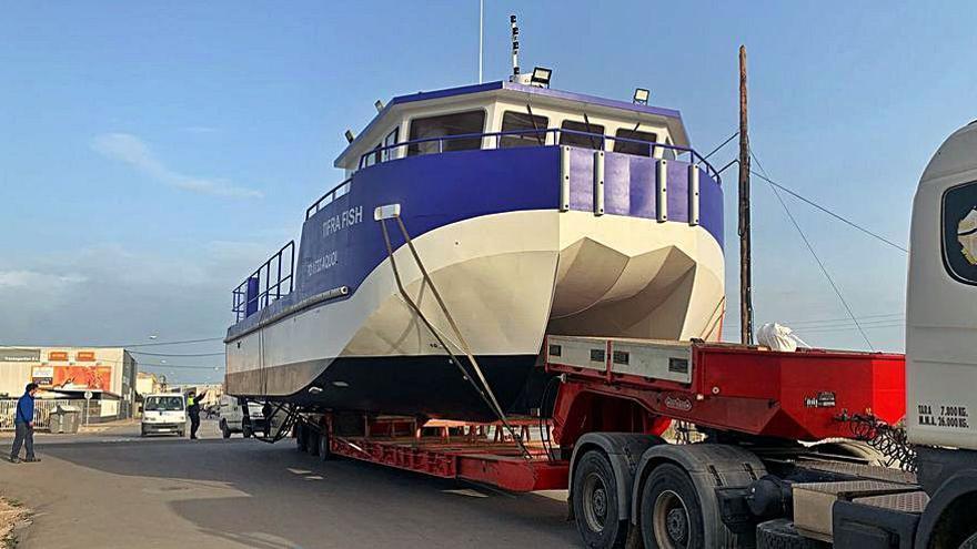 Un catamarán 'made in Vinaròs' para Argelia