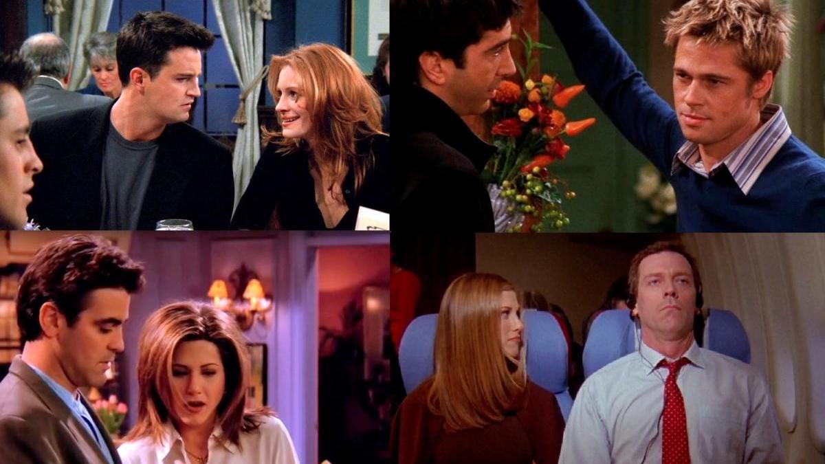 Cameos célebres en 'Friends'.
