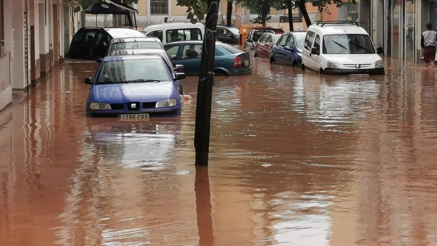 Inundaciones en Almendralejo