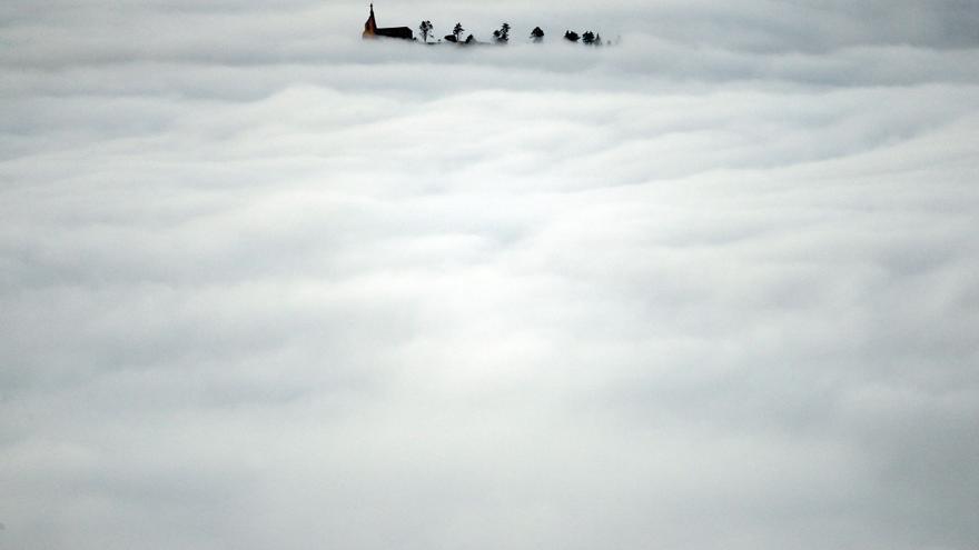 Las nieblas tienen un régimen horario inverso en las montañas y en el fondo de los valles