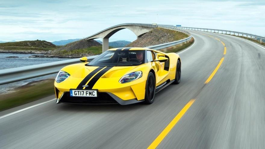 El Ford GT en acción: mucho más que un súper deportivo
