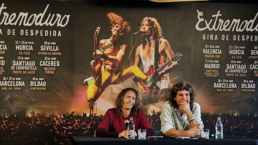 """Polémica en """"Extremoduro"""" por la posible cancelación de su gira"""