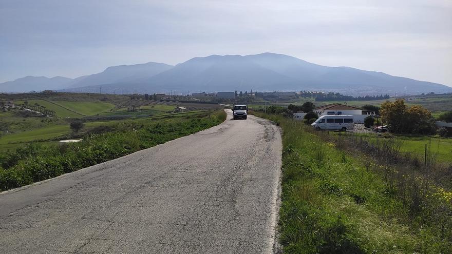 La Diputación mejorará la carretera Villafranco del Guadalhorce-Alhaurín el Grande