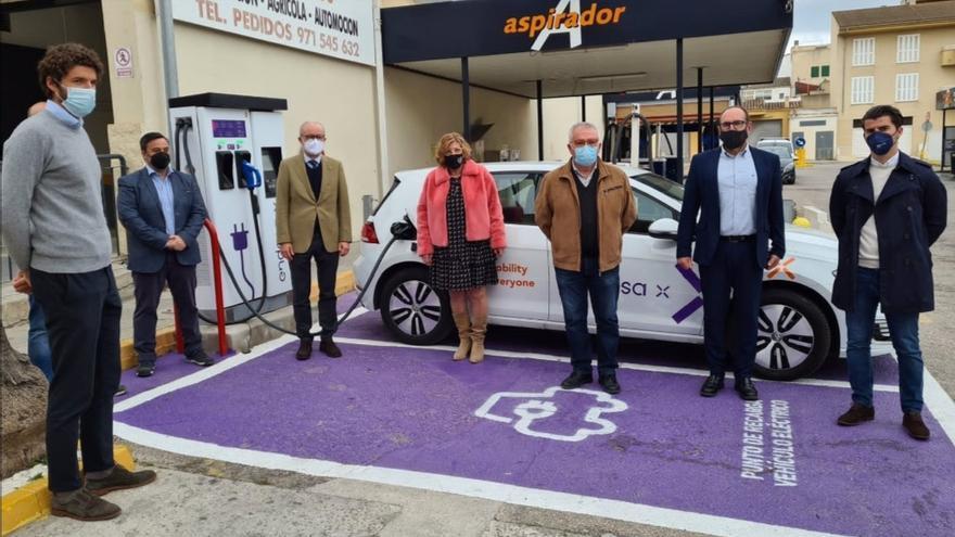Endesa X instala cuatro puntos de recarga de vehículos eléctricos en estaciones de Alcúdia