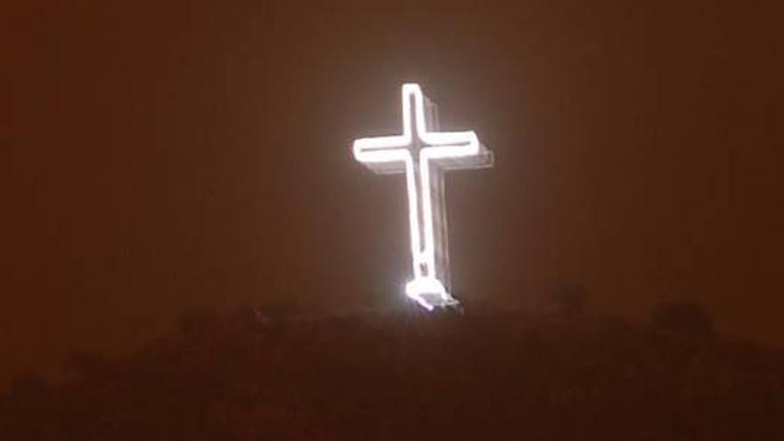 Cruz que ilumina