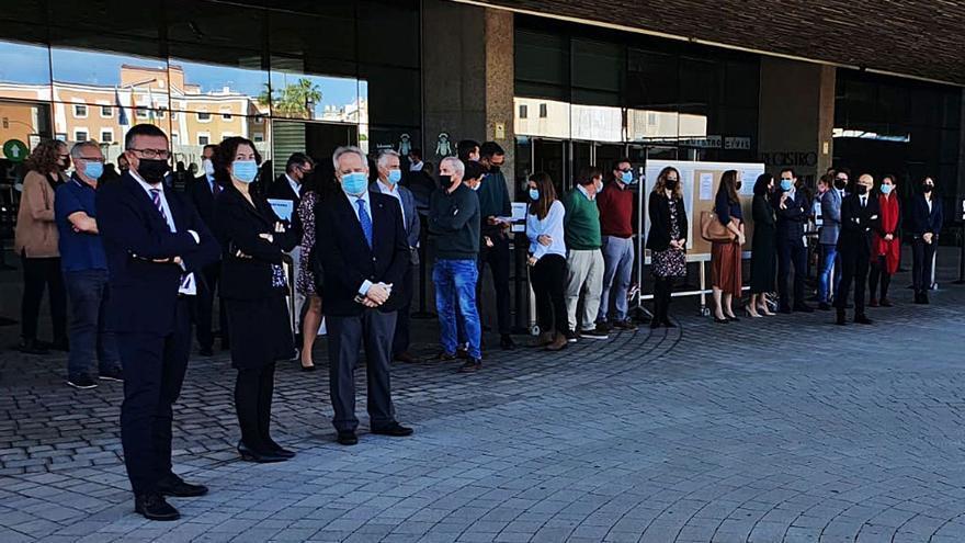 La Justicia de las Islas muestra su repulsa por el suceso de Segovia