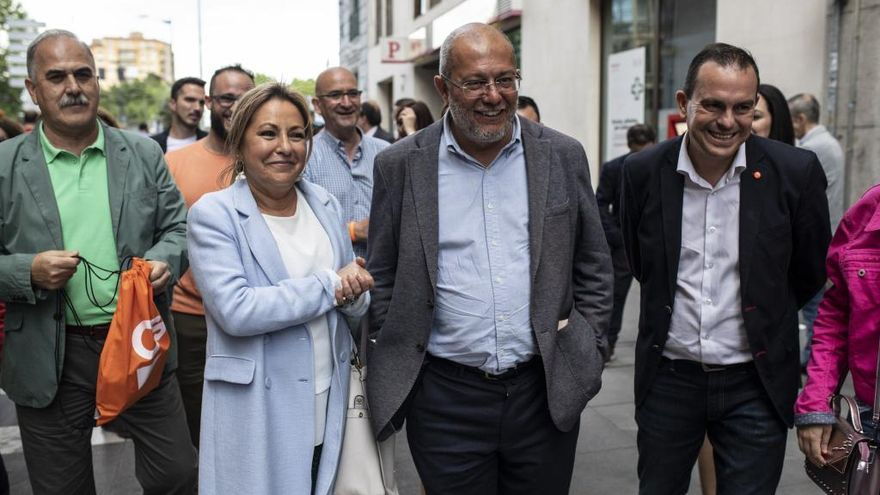 Rosa Valdeón reaparece en Zamora para apoyar a Ciudadanos a dos días del 26M
