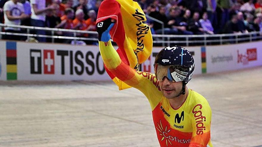 La selección de ciclismo en pista prepara en València los Juegos y la Copa de Naciones