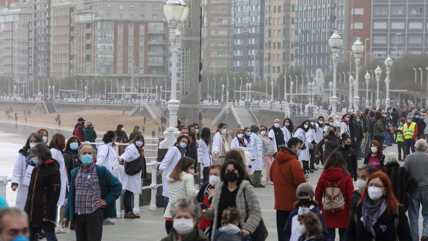 Asturias baja de los cien contagios y frena a la mitad la cifra diaria de fal</a><br data-mce-bogus=