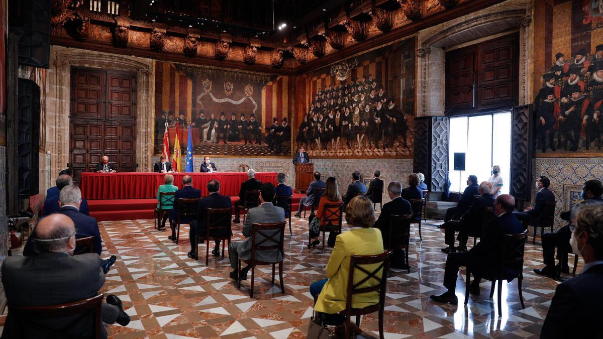 La trigésimo segunda edición de los Premios Rey Jaume I ha otorgado sus galardones este martes.
