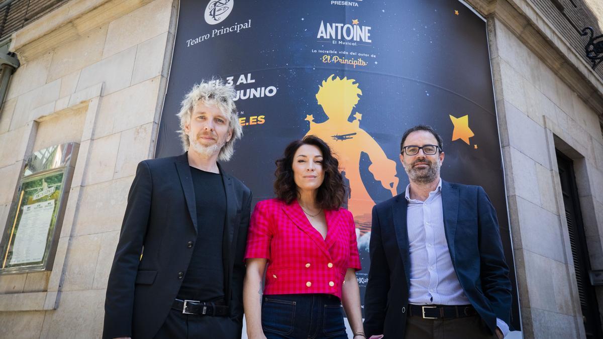 Shuarma, Lorena Calero e Ignasi Vidal, en Zaragoza.