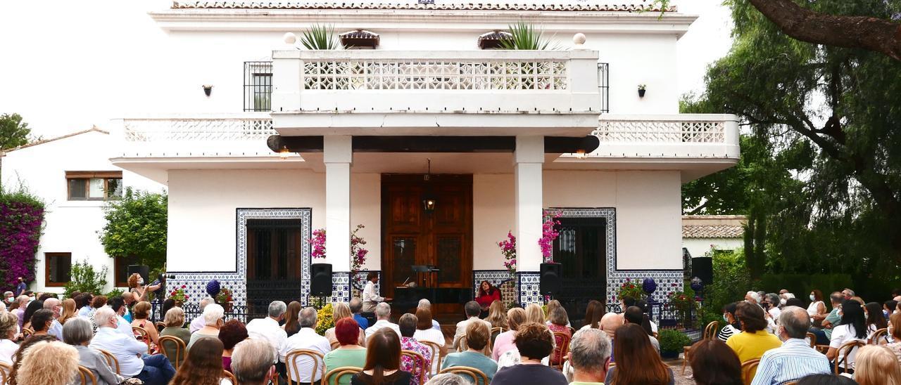 Vista general de Villa Rosita en uno de los conciertos.