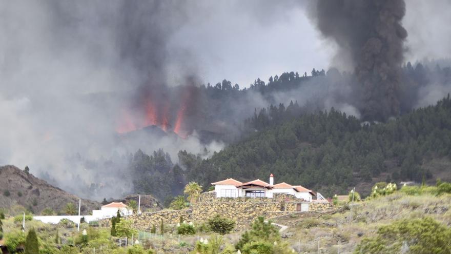 Volcán de La Palma.