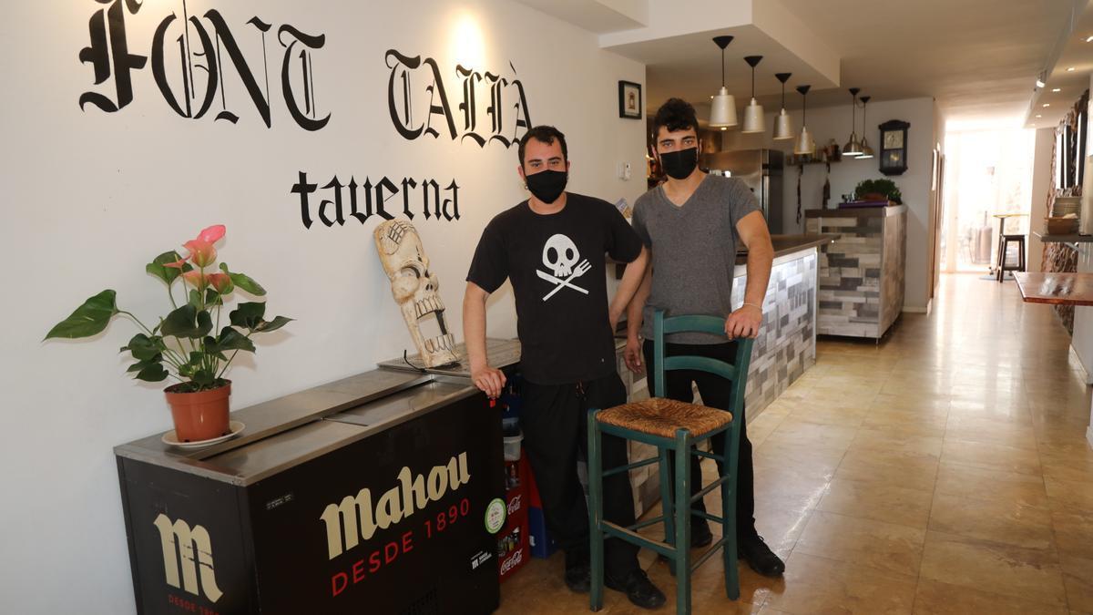 Los hermanos Néstor y Pepe Prades están al frente del negocio.