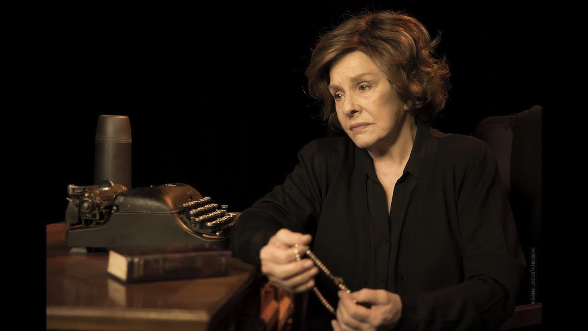 Lola Herrera interpretará 'Cinco horas con Mario' en Zuera.