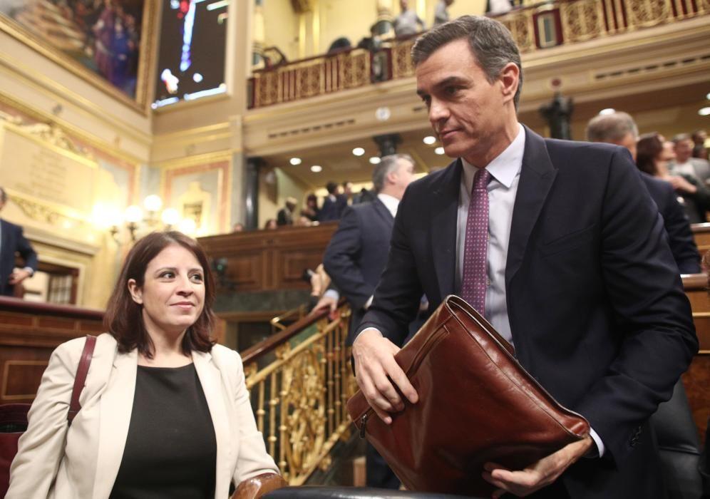 La portavoz del PSOE en el Congreso de los ...