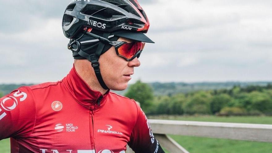 """Froome: """"La Vuelta es un objetivo más realista"""""""