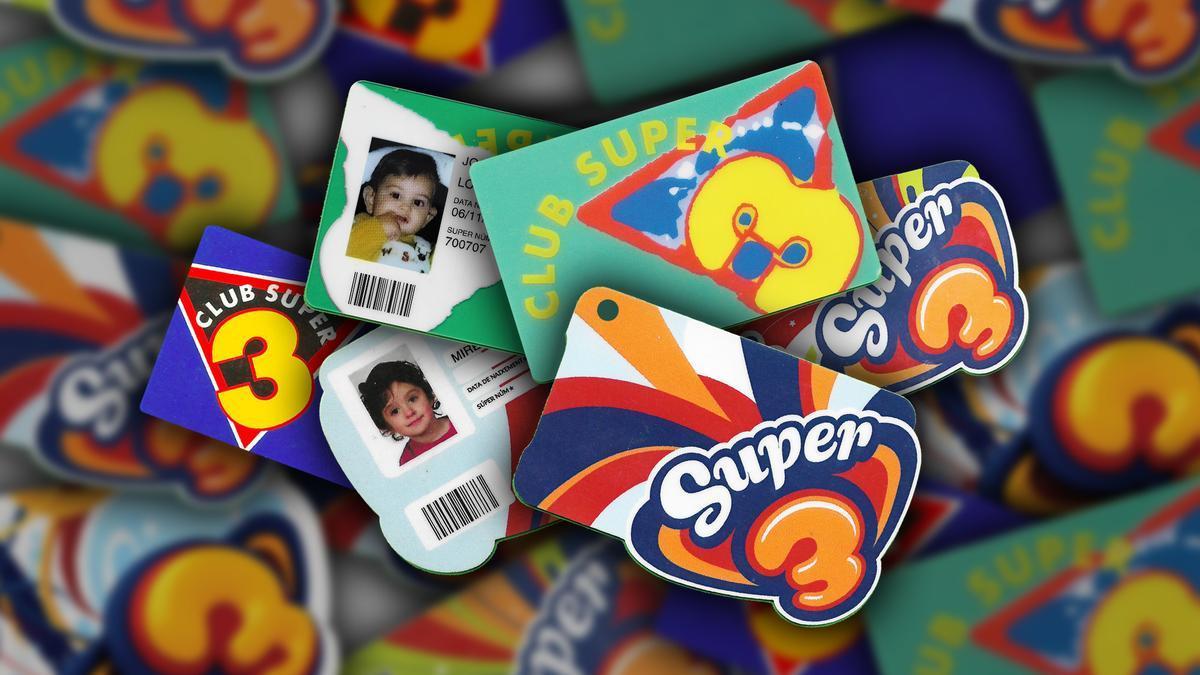 Carnets del Club Super 3 de diversos figuerencs