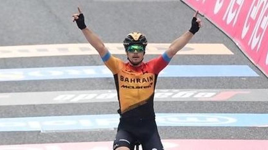 Ganador de la etapa 16 del Giro de Italia: Jan Tratnik