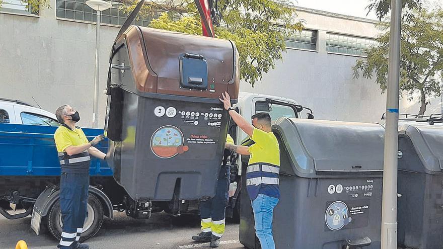 Los contenedores de orgánica llegan a Santa Catalina