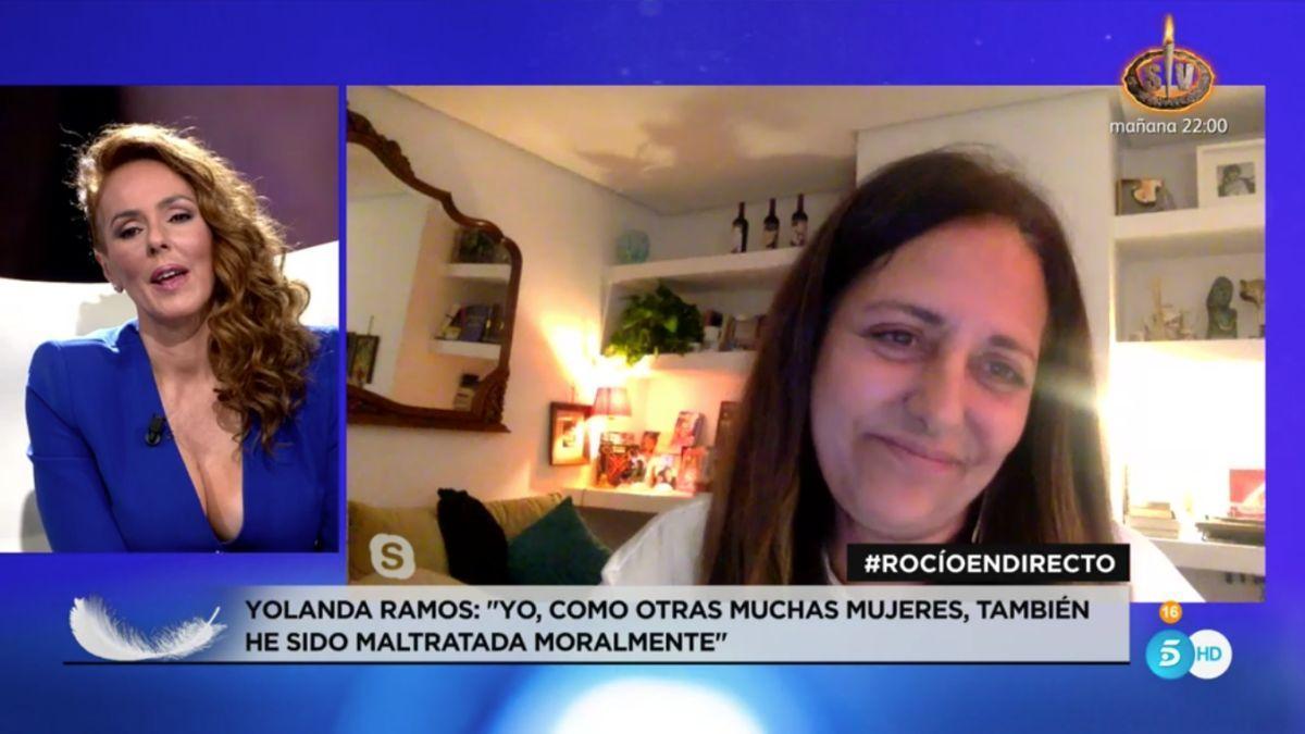 Rocío Carrasco y Yolanda Ramos.