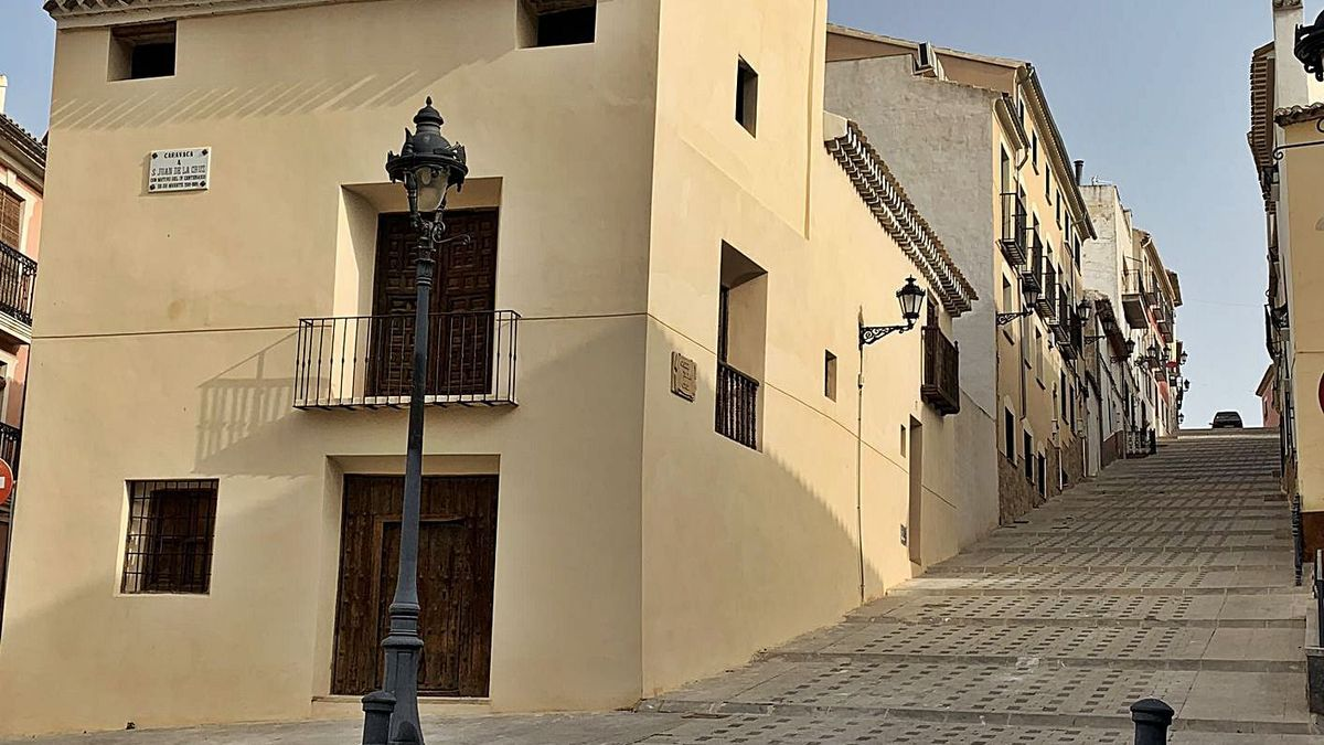La Casa de San Juan de la Cruz, que albergará un centro cultural. | ENRIQUE SOLER