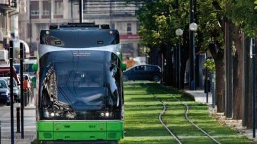 La Cívica propone un tren-tranvía entre Badajoz y Elvas con fondos europeos