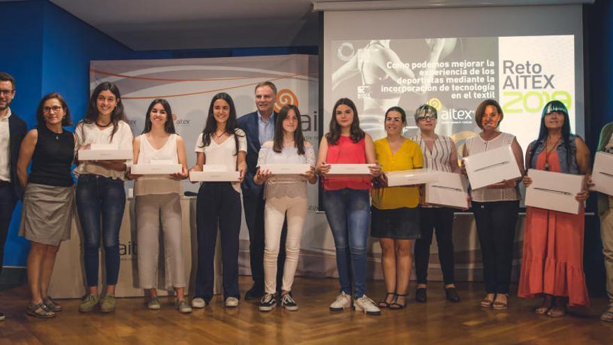 Un total de 154 estudiantes participan en los premios Reto AITEX sobre tecnología textil