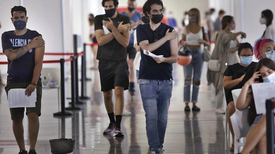 Huit morts i 2.297 contagis nous de coronavirus a la Comunitat Valenciana