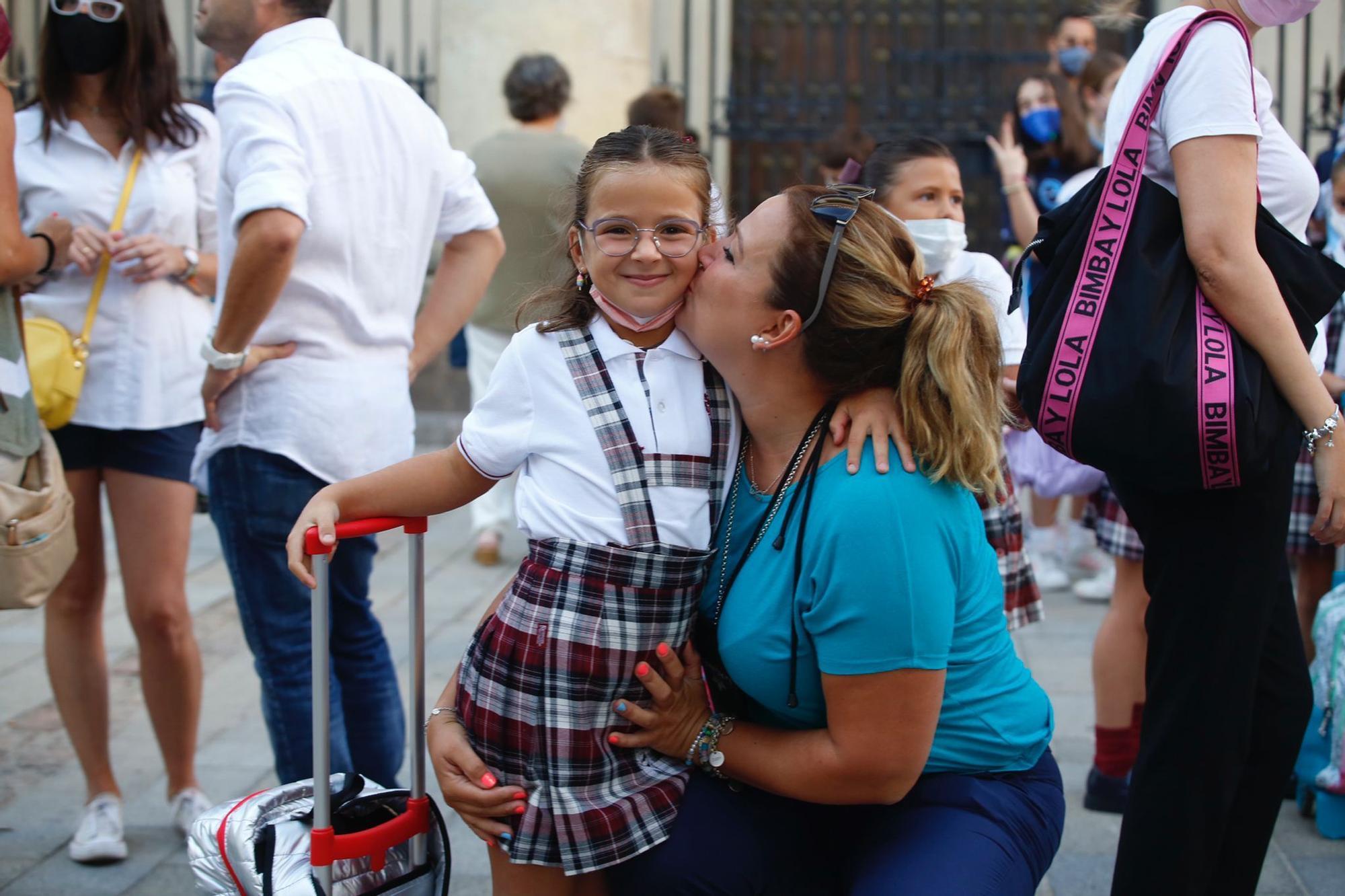 Vuelta al cole en Córdoba para los alumnos de Infantil y Primaria