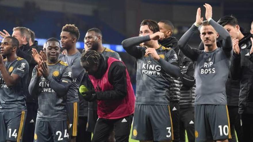 El Leicester  honra la memoria de su dueño