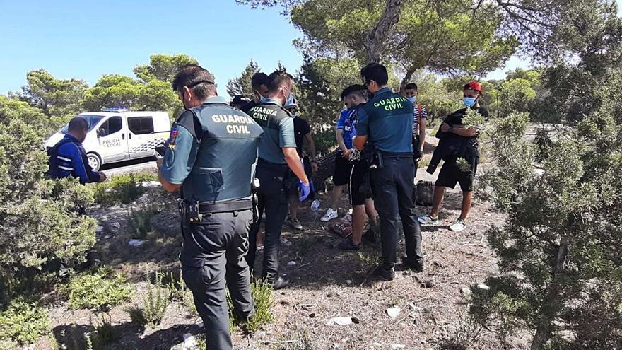 Una tercera patera eleva a 43 el número de migrantes llegados a Formentera en apenas 12 horas