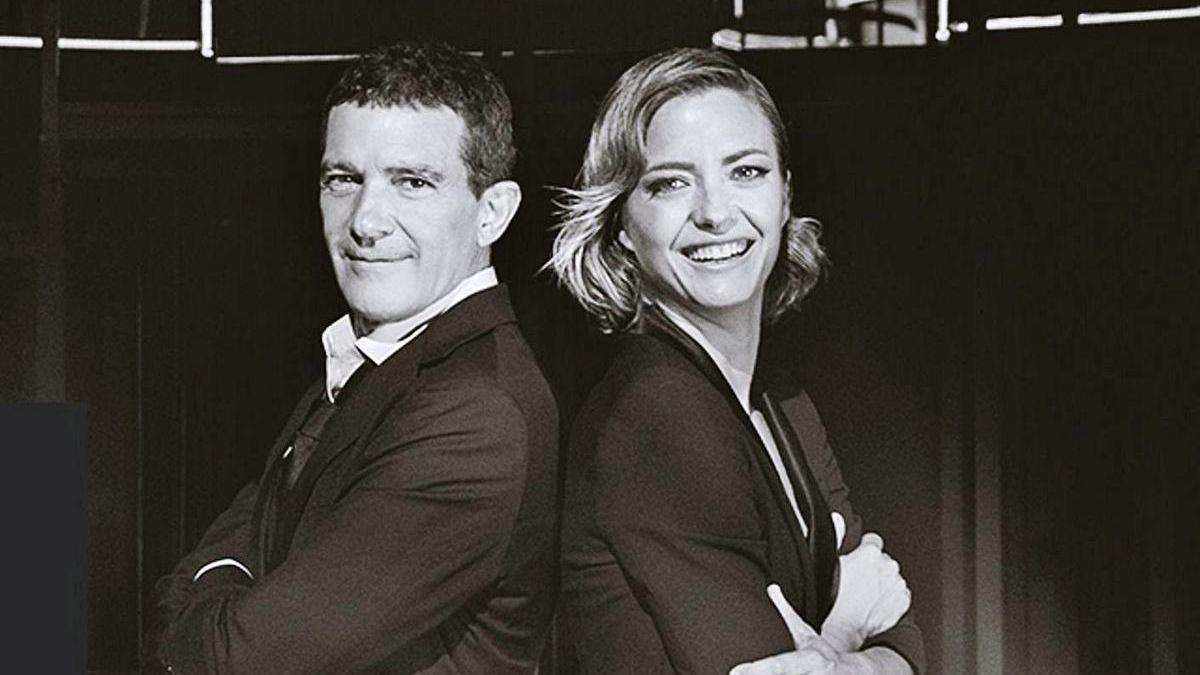 María Casado y Antonio Banderas.