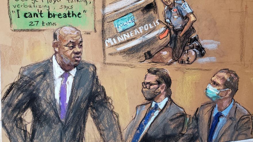 El inicio del juicio del caso de George Floyd sienta a EEUU en el banquillo