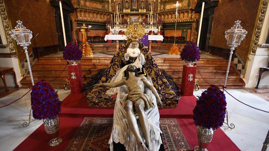 Viernes cofrade de veneración en las hermandades cordobesas