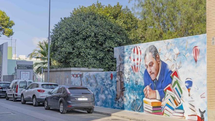 Picassent dedica un mural a Josep Albert i Fortuny