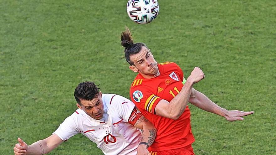 Gales rescata un punto ante Suiza
