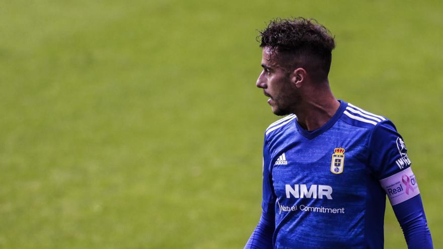 Así está la situación contractual de Tejera en el Oviedo: el club quiere renovarle en 2021