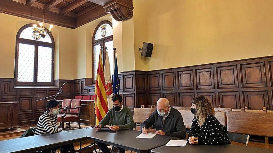 L'Ajuntament de Cardona aporta 2.000 euros a Càritas per a la població vulnerable
