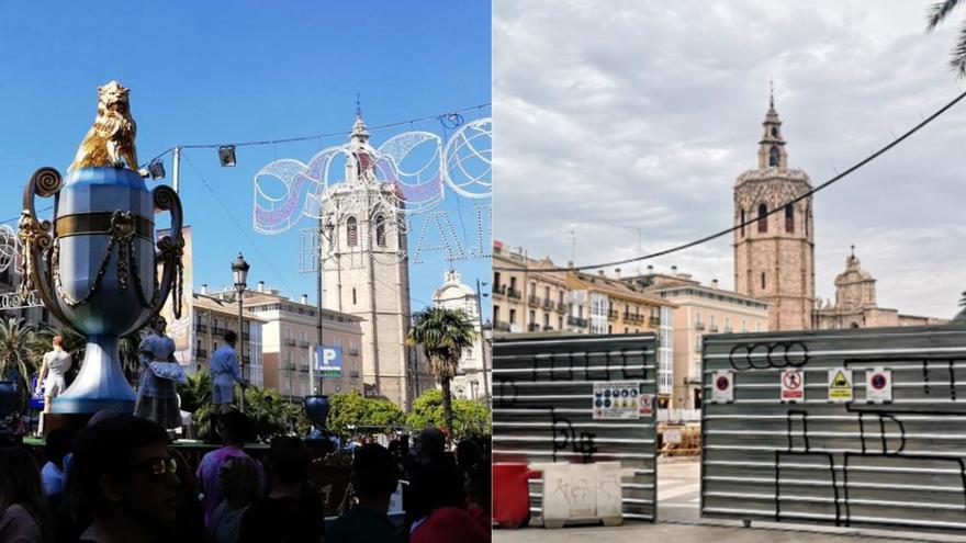 Hasta cuatro fallas plantarán en la plaza del Ayuntamiento
