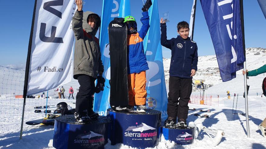 Buenos resultados del We Snow Asturias en la Copa España SBX
